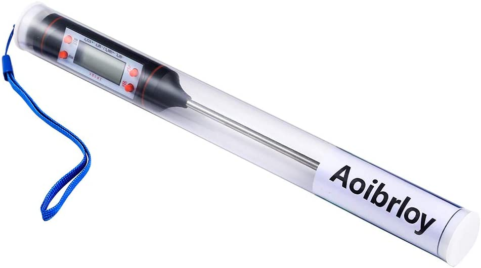 Aoibrloy Thermometer-Digital Max 73% OFF Thermometer Save money Waterproof A Fast and