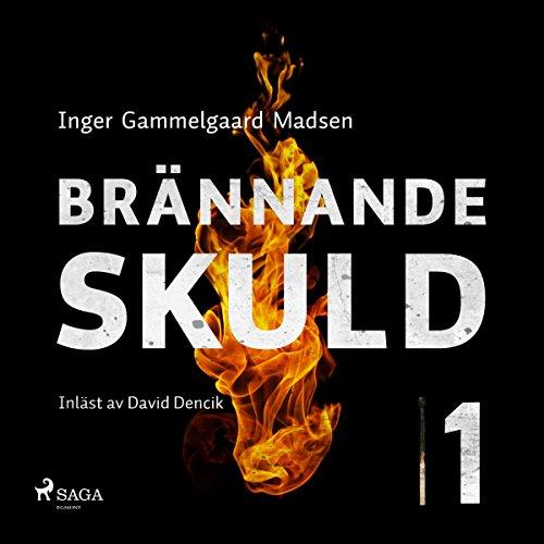 Brännande skuld 1 audiobook cover art