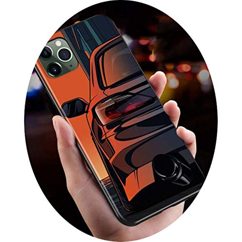 Cover For iPhone 11 Pro MAX SE Shell Blue Red Car for BMW for iPhone XS MAX XR X 8 7 6S 6 Plus 5 S Phone Case