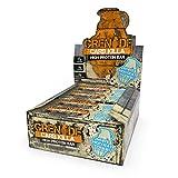 Grenade Carb Killa Barretta Proteica a Basso Contenuto di Carboidrati, 12 x 60 g - White Chocolate Cookie