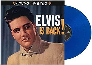 Elvis Presley - Elvis Is Back Translucent Exclusive Blue Color Vinyl LP