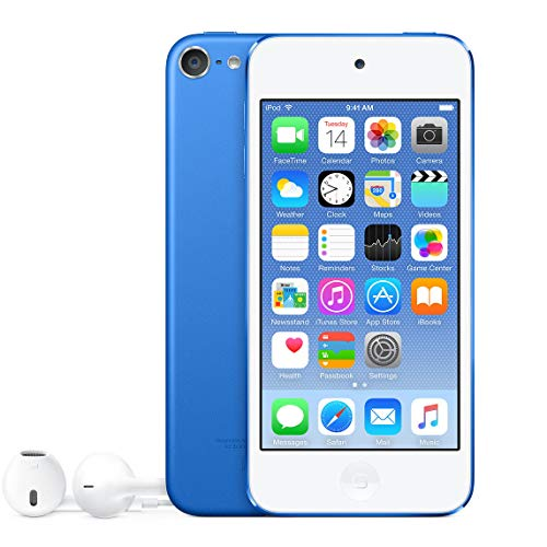 GDPLAY for iPod Touch 5th Generation with Box Packaging(Blue-16GB)