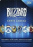 Carte cadeau Blizzard 20 EUR |...
