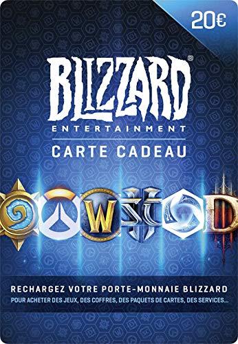 Carte cadeau Blizzard 20 EUR | Téléchargement PC - Code