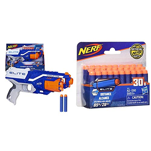 Nerf Elite A6290 Suction Darts, Pack of 30