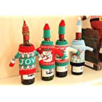 Fashionclubs-Christmas-Wine-Bottle-Knitted-Ugly-Sweater-Covers-SetSet-of-4