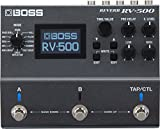BOSS RV-500 Reverb Effects Pedal, Powerful and Versatile Reverb processor; Studio-Level Sound with first-in-Class 32-bit AD/DA, 32-bit Floating Point Processing, and 96 kHz Sampling Rate
