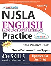 New Jersey Student Learning Assessments (NJSLA) Test Practice: Grade 7 English Language Arts Literacy (ELA) Practice Workbook and Full-length Online Assessments: New Jersey Test Study Guide