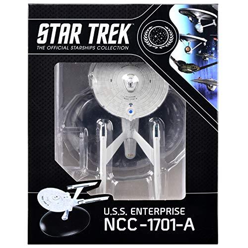 Eaglemoss Hero Collector Star Trek USS Enterprise NCC-1701-A Ship Replica Deluxe Boxed Edition