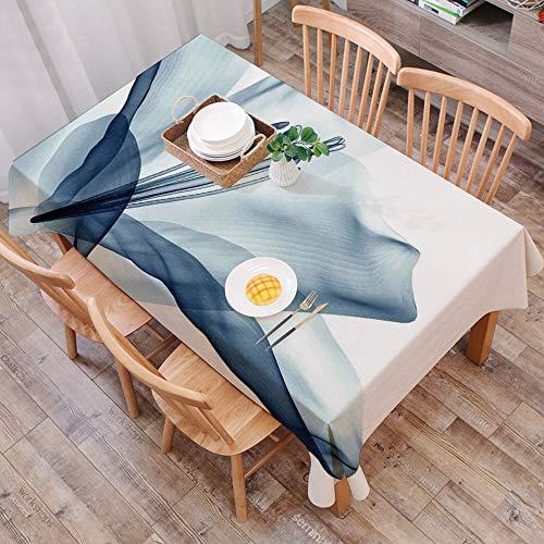 Mantel Antimanchas Rectangular Impermeable,Flor, una mirada cercana a un arreglo floral con efecto de rayos X, image,Manteles Mesa Decorativo para Hogar Comedor del Cocina,(140 x 200 cm/55*78 pulgada)