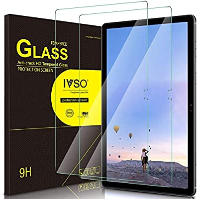 IVSO Screen Protector Compatible Samsung Galaxy TAB A7, Screen Protector for Samsung Galaxy TAB A7, Tempered-Glass Flim Screen Protector Compatible Samsung Galaxy TAB A7 T505/T500 10.4 2020, 2 Pack