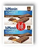 Bimanan Komplet barritas Chocolate crujiente 8 barritas, 2ª unidad al 50%