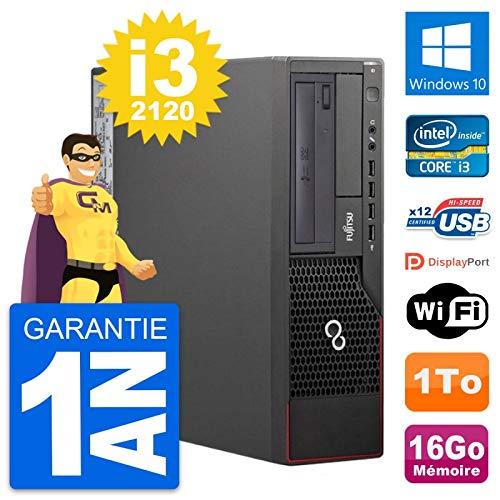 Fujitsu PC Esprimo E700 DT Intel i3-2120 RAM 16GB Disco duro 1TB Windows 10 WiFi (Reacondicionado)