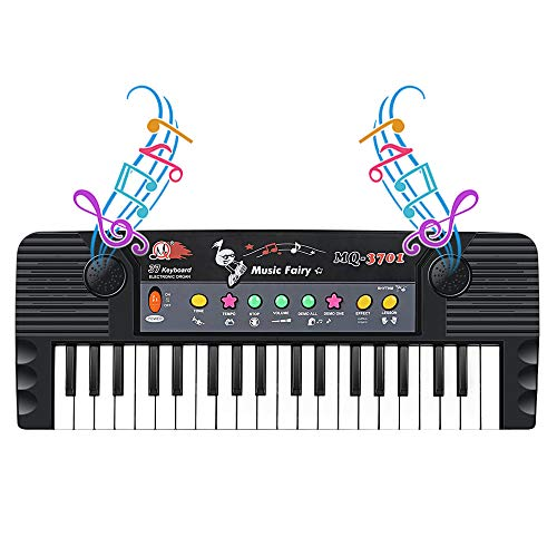 Shayson Keyboard Piano for Kids, 37 Keys Electronic Organ, Piano Keyboard with Microphone, Musical Educational Toys for Kids
