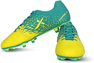 Vector X TRIUMP Football Shoes (Lemon Yellow-Sea Green)