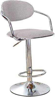 YN-bar Stool Luxury and Comfortable Bar Stool Nordic Rotating Lift Home Chair (Color