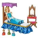 Disney Aurora Classic Doll Bedroom Play Set - Sleeping Beauty