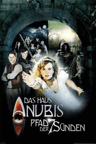 empireposter Das Haus Anubis - Pfad der 7 Sünden Kinder Serie Nickelodeon Poster Plakat Druck - Grösse cm + 2 St Posterleisten Kunststoff 62 cm transparent
