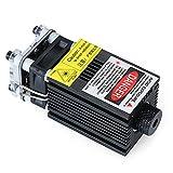 Engrave Head,500mW EleksMaker 405-445NM Módulo láser azul 2.54-3P Modulación TTL/PWM para grabador láser DIY