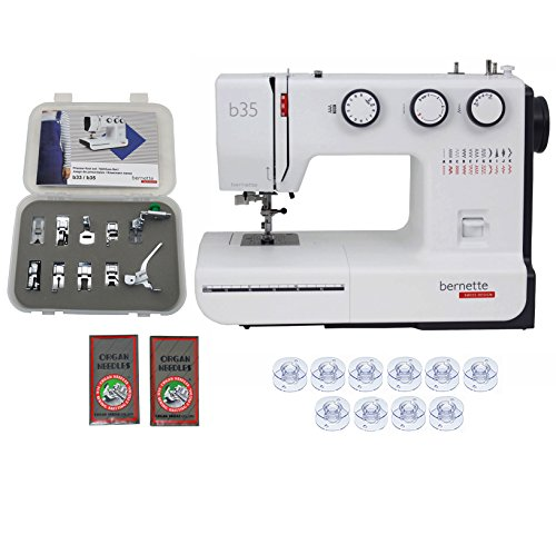 Bernette 35 Swiss Design Sewing Machine with Exclusive Bundle