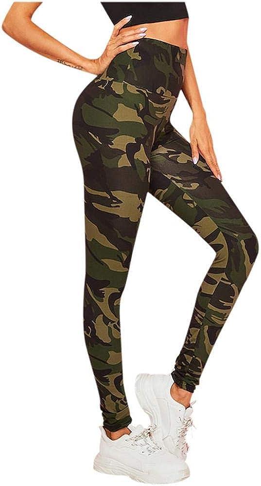 VJGOAL Pantalones de Yoga para Mujer, Cintura Alta, Estampado ...