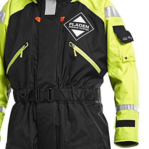 Fladen Rescue System Schwimmanzug / Floatinganzug verschiedene Größen / Überlebensanzug Norwegen (XX-Large - 90 to 135kg - 190 to 198cm)