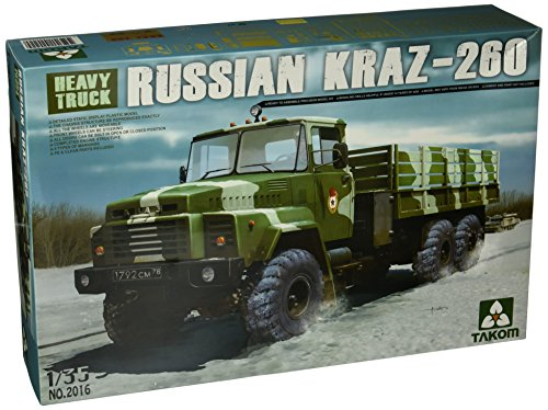 TAKOM tak2016–1/35 Kraz 260 Truck