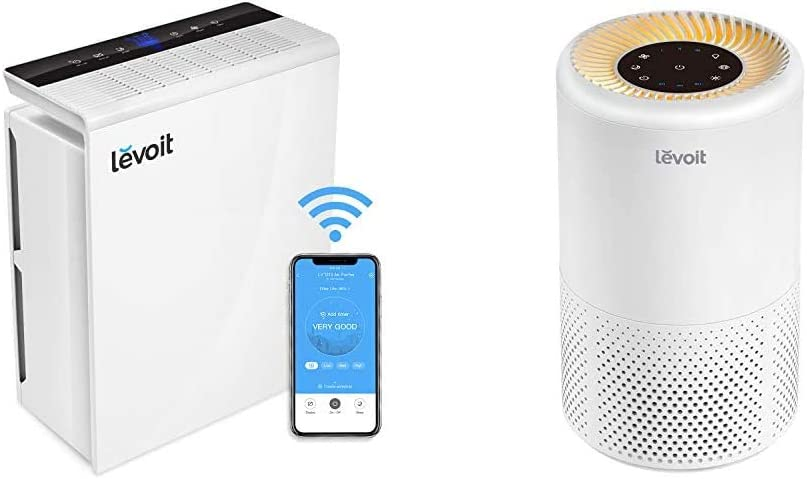 LEVOIT Smart Wi-Fi Air Ranking TOP7 Purifier for HEPA Home Large Filter True 4 years warranty