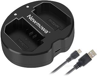 Newmowa NP-FZ100 ダブルチャージ充電器キット 対応機種 NP-FZ100,Alpha 9, A9, Alpha 9R, A9R, Alpha 9S, A7RIII, A7R3, a7 III, a7S III