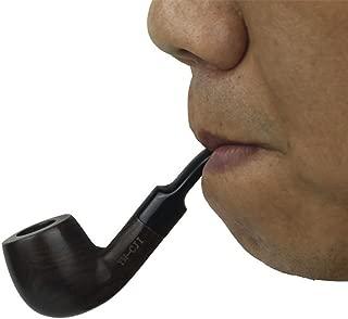 KYSUN Handmade Tobacco Pipe Ebony Wooden Smoking Pipe