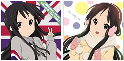 K-ON  the Movie - Mio Akiyama Cushion Cover (japan import)