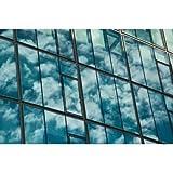Dimexact Película espejo unidireccional acristalamiento e instalación ventana interior - rollos de 100 cm x 150 cm