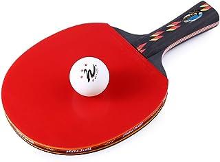 SIMUER Juego de Lanzamiento Y Pelota de Juego de Raqueta de Tenis Y Juego de Paleta de Bola,Juego Tirar Atrapar Pelotas de Tenis Base-Ball Juegos Raqueta Scratch Juegos Pelotas Ping Pong Verano Juego