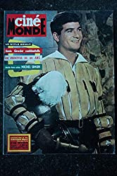 Cinémonde n° 1420 * 1961 * JEAN CLAUDE BRIALY Annie GIRARDOT Michel SIMON - 36 p. - 24 octobre 1961