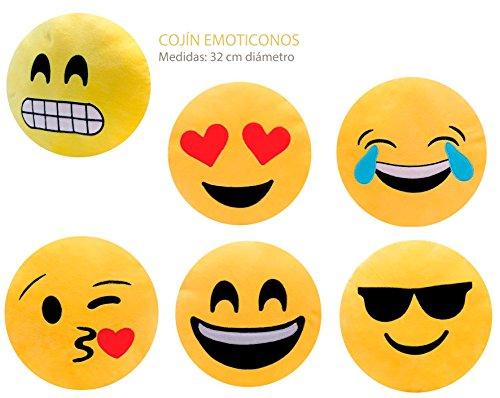 DISOK - Cojín Emoticonos (Precio Unitario)