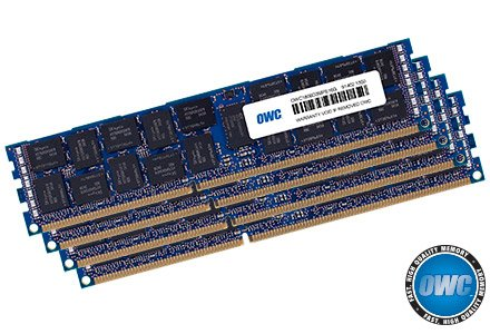 OWC 128 GB (4 x 32GB) PC3-10600 1333MHz DDR3 ECC-R SDRAM Memory Upgrade Kit for 2013 Mac Pro