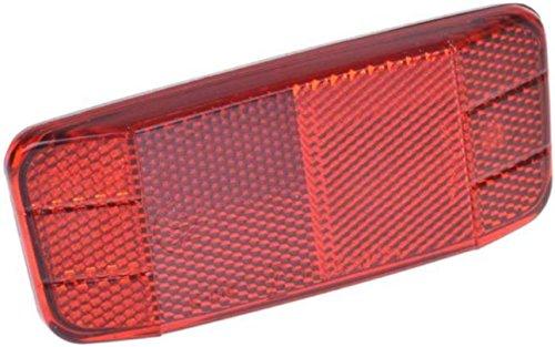 Gravidus Fahrrad-Heckreflektor für Gepäckträger, rot