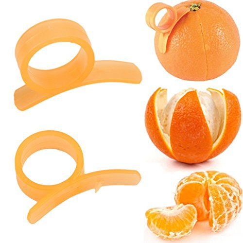 HeroNeo ® 2–Orange-Eplucheur trancheur plastique agrumes citron-peaux