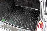 J&J AUTOMOTIVE N Premium Antirutsch Gummi-Kofferraumwanne für Insignia SportTourer 08-16