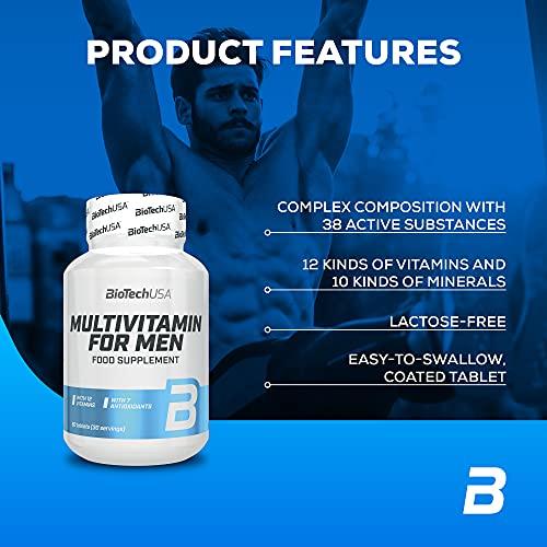 BioTech USA Multivitamin- 60 Tabletten, 1er Pack (1 x 84 g) - 2