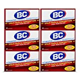 BC Powder Sinus Pain & Congestion, 4 Powder Sticks, 6 Pack