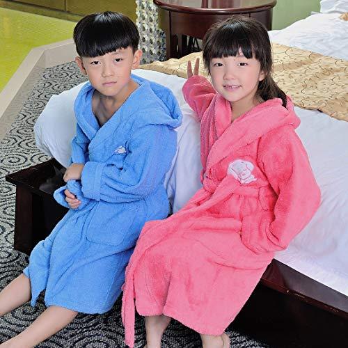 Wegji Pure katoen badjas baby handdoek materiaal kinderen met cap badjas sachet katoen dikke bad waterabsorberende mannelijke en vrouwelijke meisje gewaad