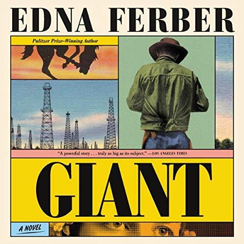 Giant audiobook cover art
