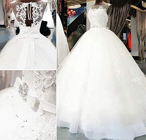 Elegance Z trouwjurk, elegant, eenvoudige witte hoog-end kant Hollow Big Tail trouwjurk