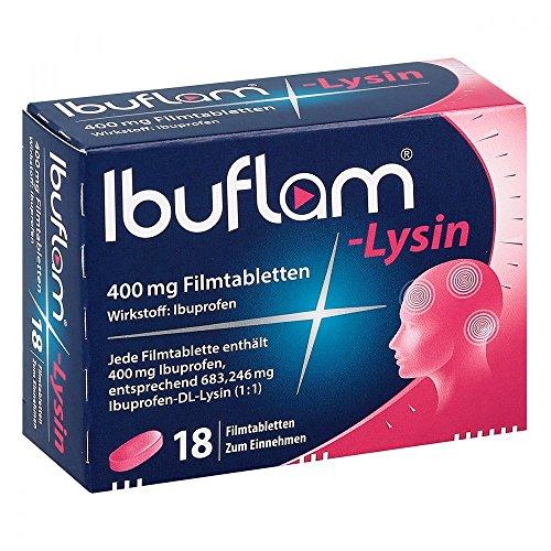 IBUFLAM-Lysin 400 mg Filmtabletten 18 St