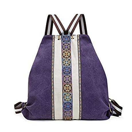 50%OƑƑ canvas backpack purse for women