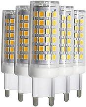 Led Bulbs, G9 Led Bulb, No Flicker, No Strobe,7W Dimmable G9 Base Led Light Bulb,450-500LM, 50W Equivalent, 3000K/6000K, E...
