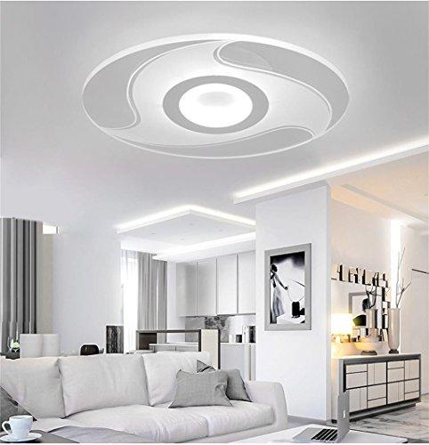 WWWWW ronde woonkamer plafondlamp sleek minimalistisch restaurant terras plafondlamp kamerlamp kinderkamer warmwit licht voor romantische sfeer LED