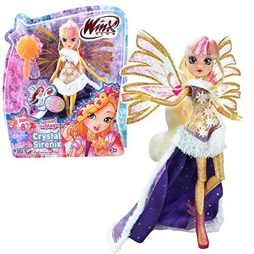 Winx Club Stella | Crystal Sirenix Puppe Bewegliche Flügel | Staffel 8