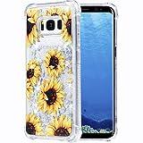 Flocute Galaxy S8 Plus Hülle, Galaxy S8 Plus Floral Hülle